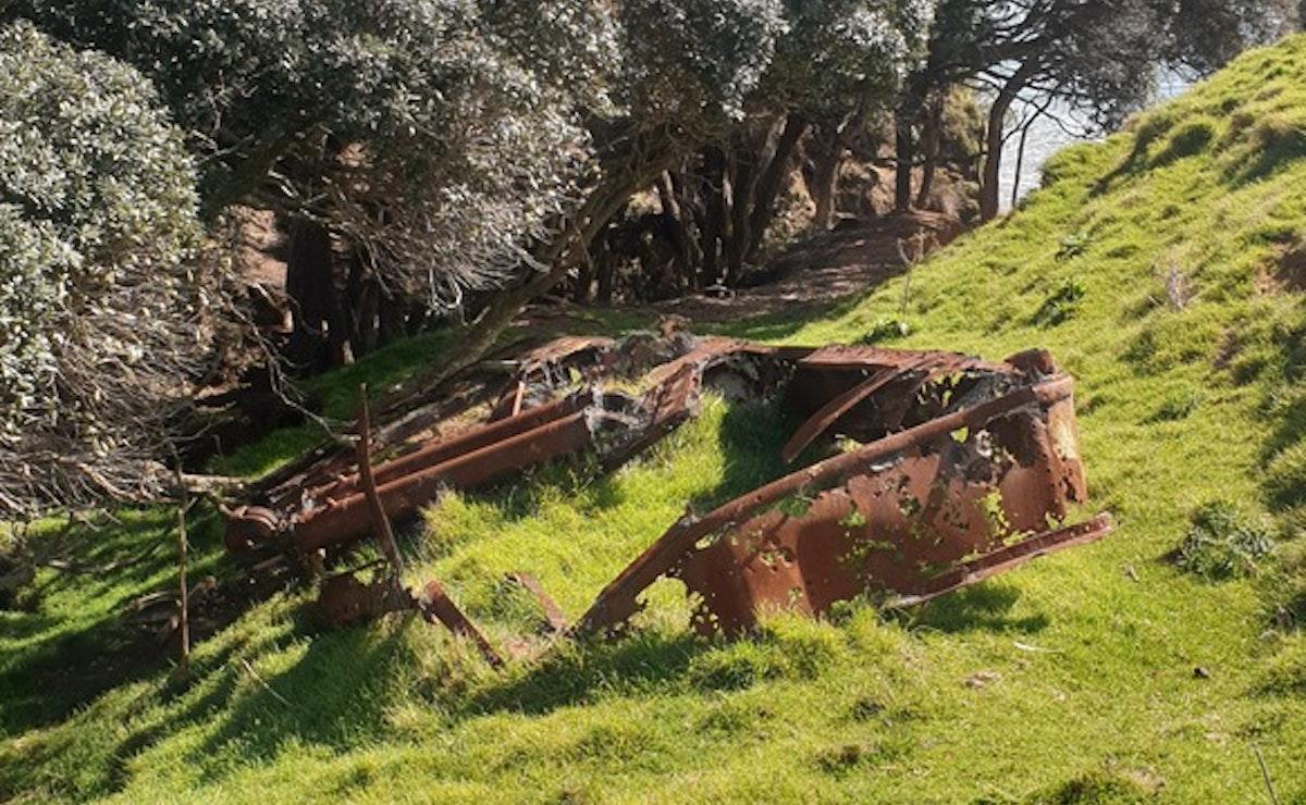 Papakura Bay Shipwreck