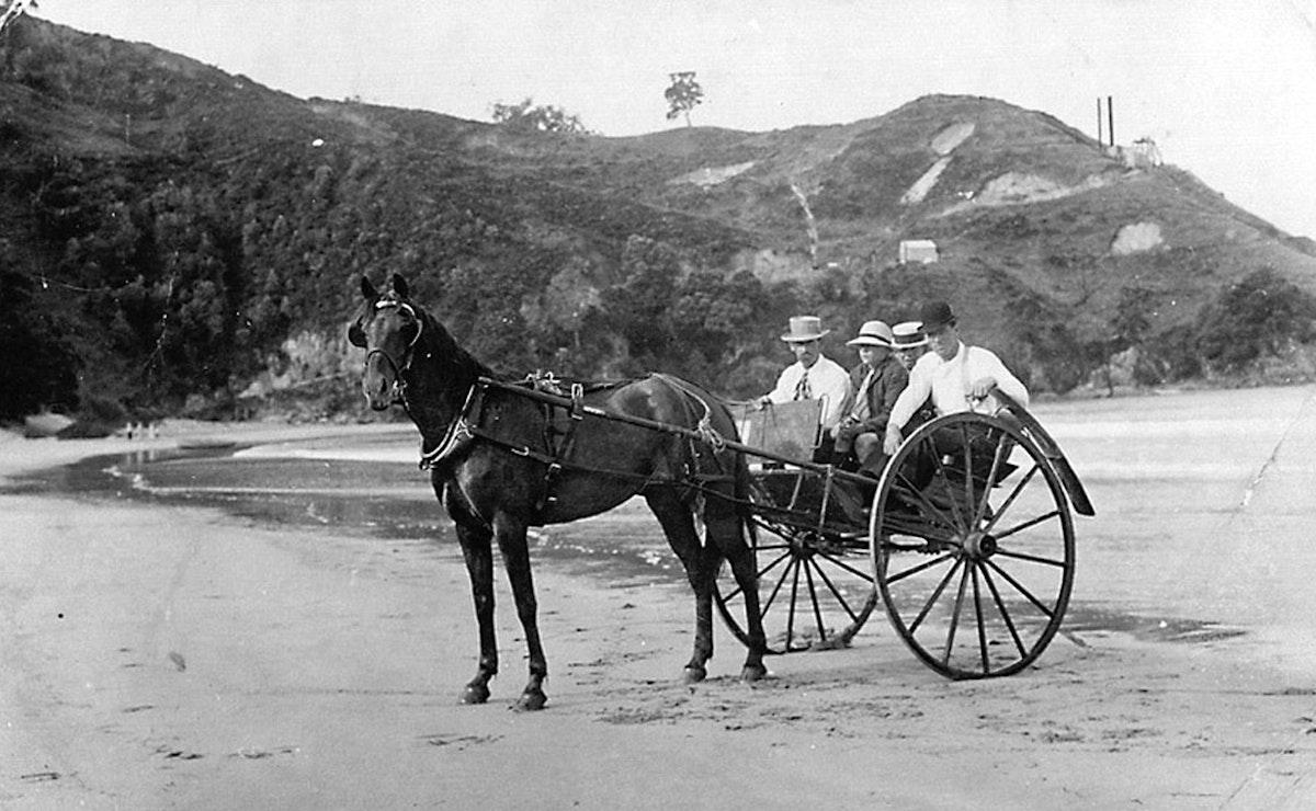 Waihi Beach North End Mining History