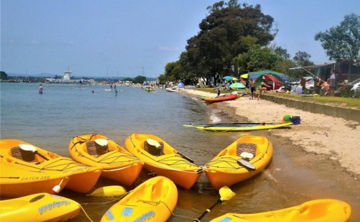 Waterways Adventure Omokoroa Kayaks