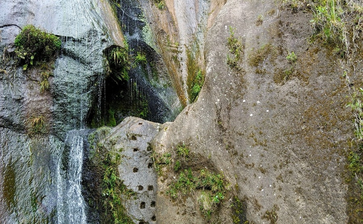 Orokawa Bay and William Wright Falls